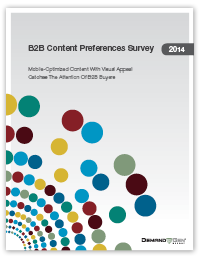 DGR Content Preferences Survey cover