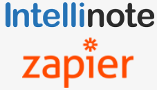 Intellinote Zapier logos