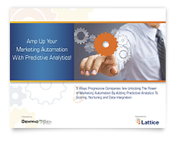 Shadow Lattice E-book Amp Up Marketing Automation with Predictive Analytics