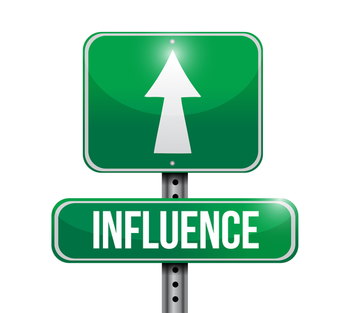 influencer sign logo