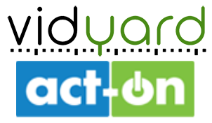 vidyard-act-on logos