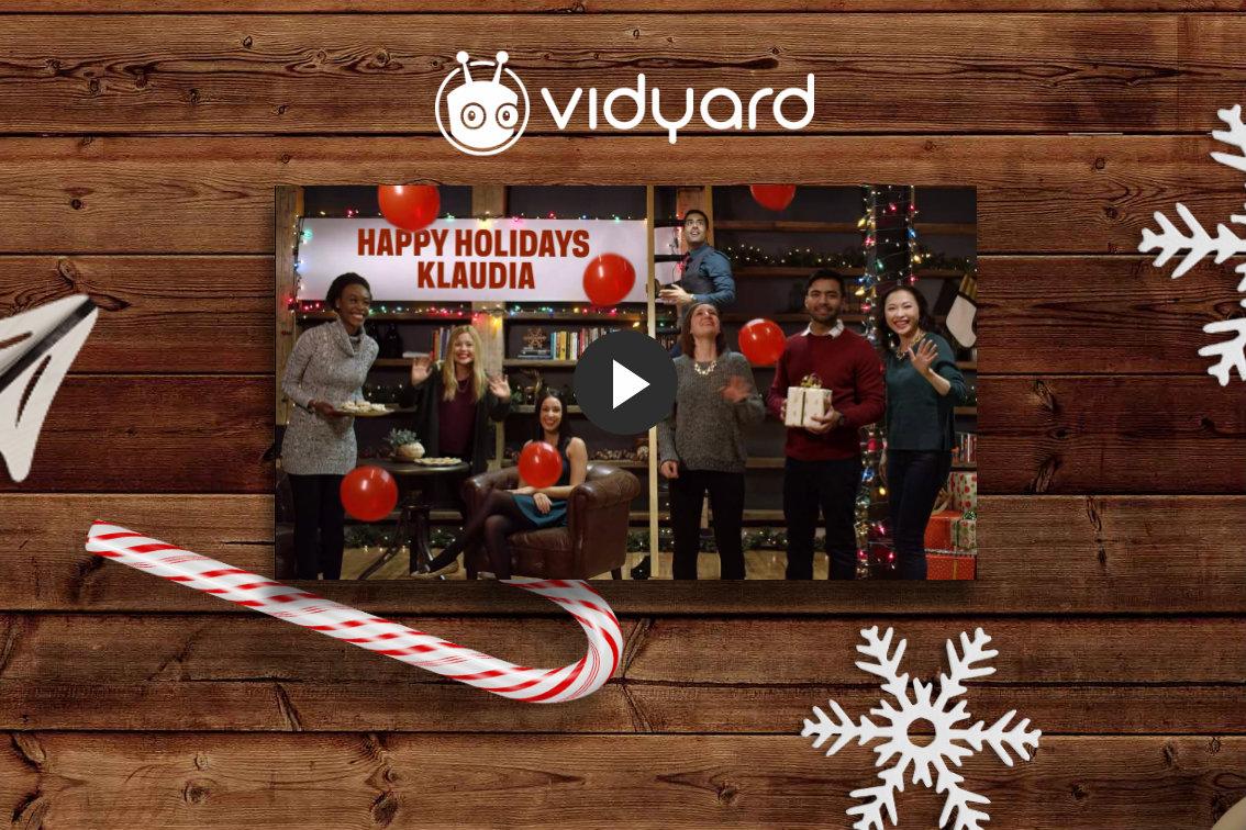 Vidyard holiday image