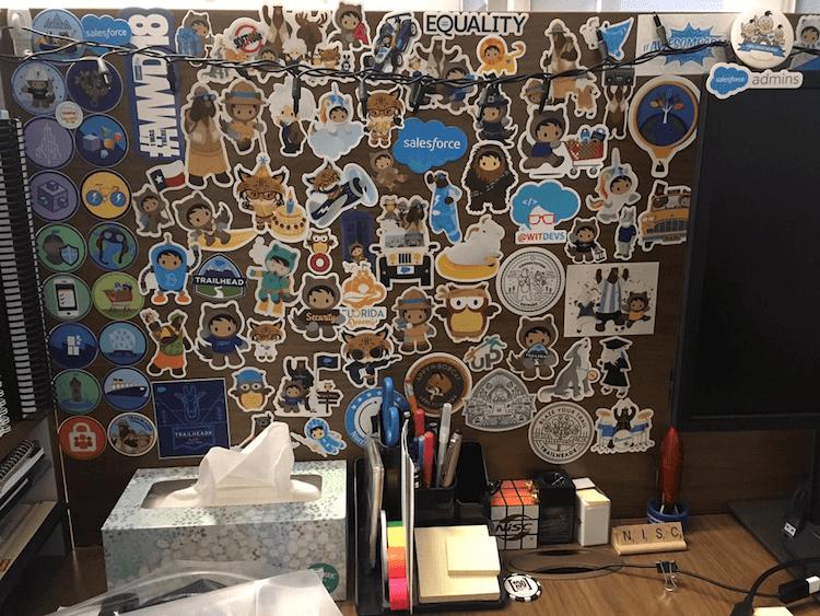 trailblazer stickers 3