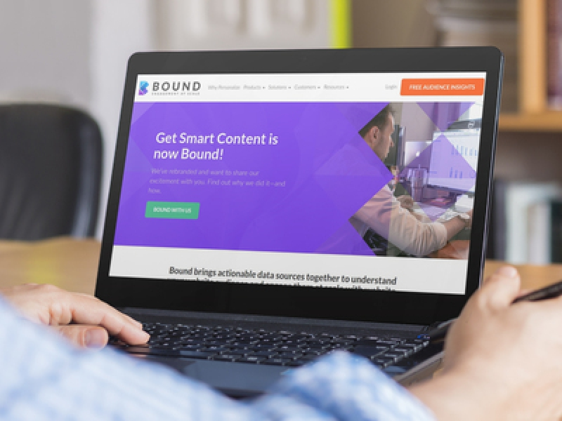 Get Smart Content Rebrands To Bound, Redesigns 360-Degree Personalization Platform