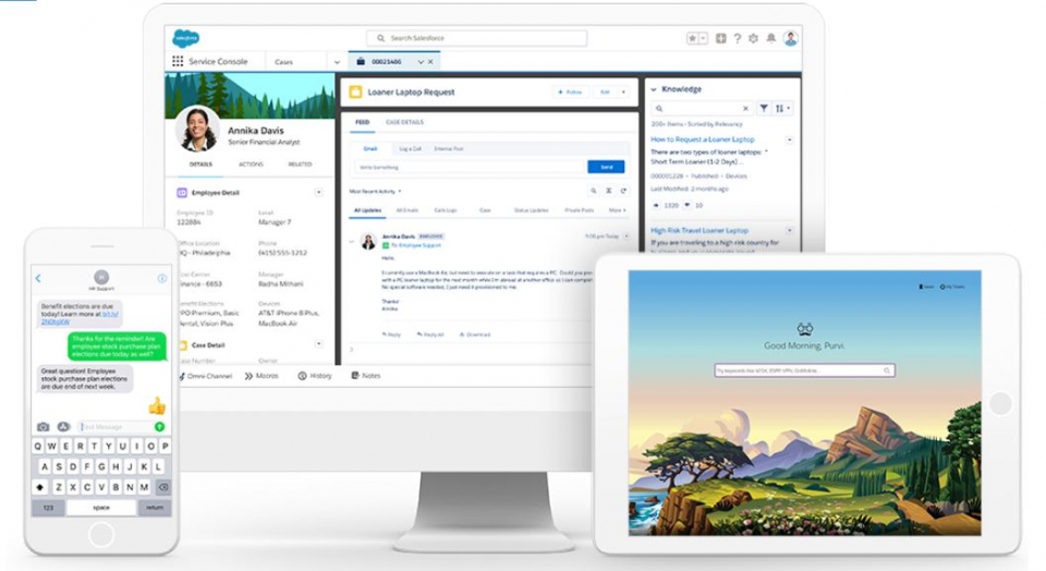 Salesforce Unveils Remote Workforce Engagement Solution