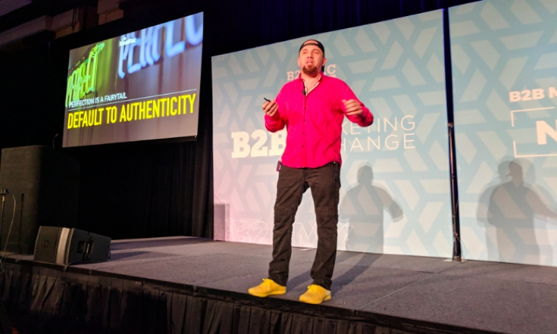 #B2BMX Keynote: Brian Fanzo Shares How To Get Inside The Mind Of The Digitally Plugged Generation