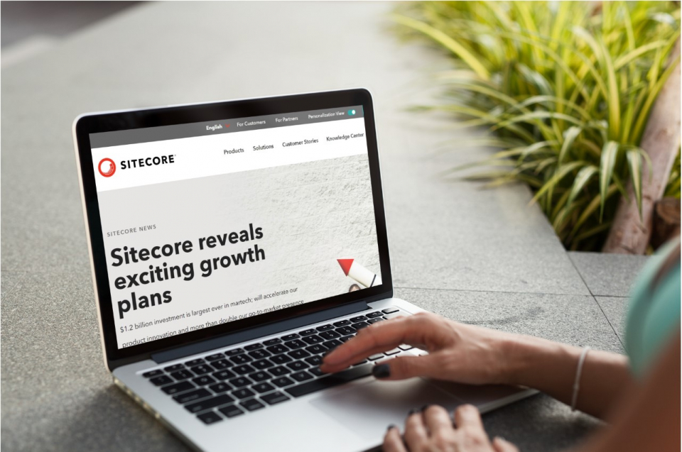 Sitecore Receives $1.2B Investment