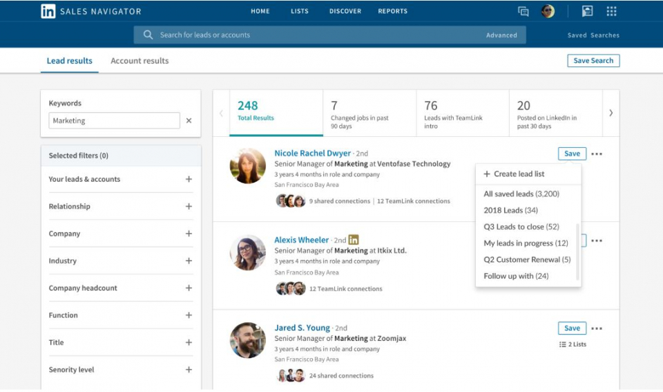 LinkedIn Releases Updates To Sales Navigator To Enhance Virtual Selling