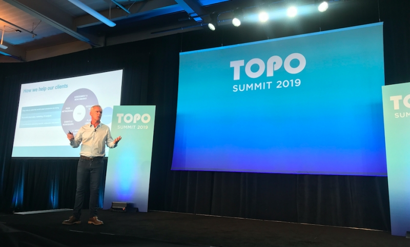 TOPO CEO Spotlights CX, Brand Power, Data & People At Summit 2019