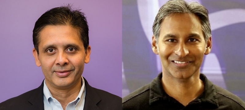 Pattabhiram (left) will replace Dholakia (right) as CMO