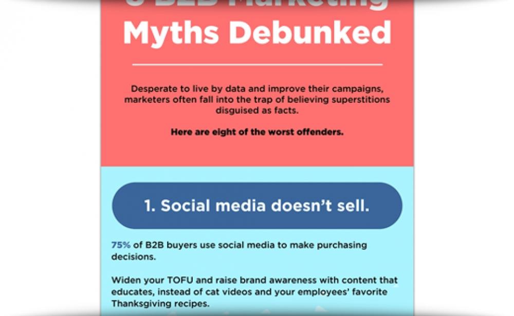 8 B2B Marketing Myths Debunked