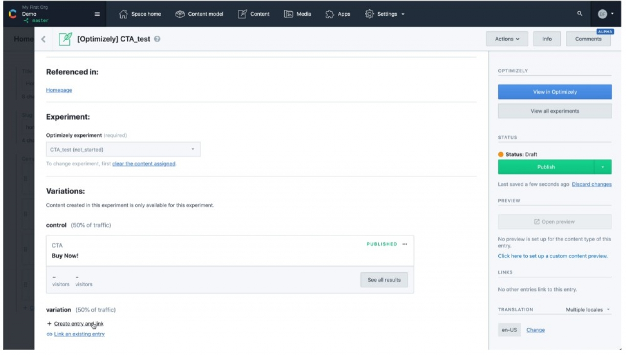 Contentful Integrates Optimizely Tool For Simplified Content Experimentation