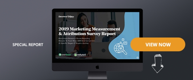 2019 Marketing Measurement & Attribution Survey Report