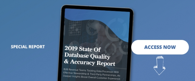 2019 State Of Database Quality & Accuracy Report