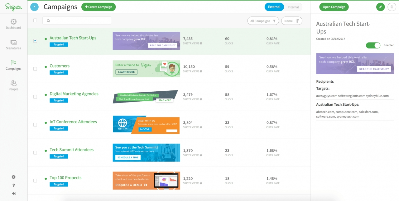 Sigstr Adds ABM Functionality To Email Signature Product