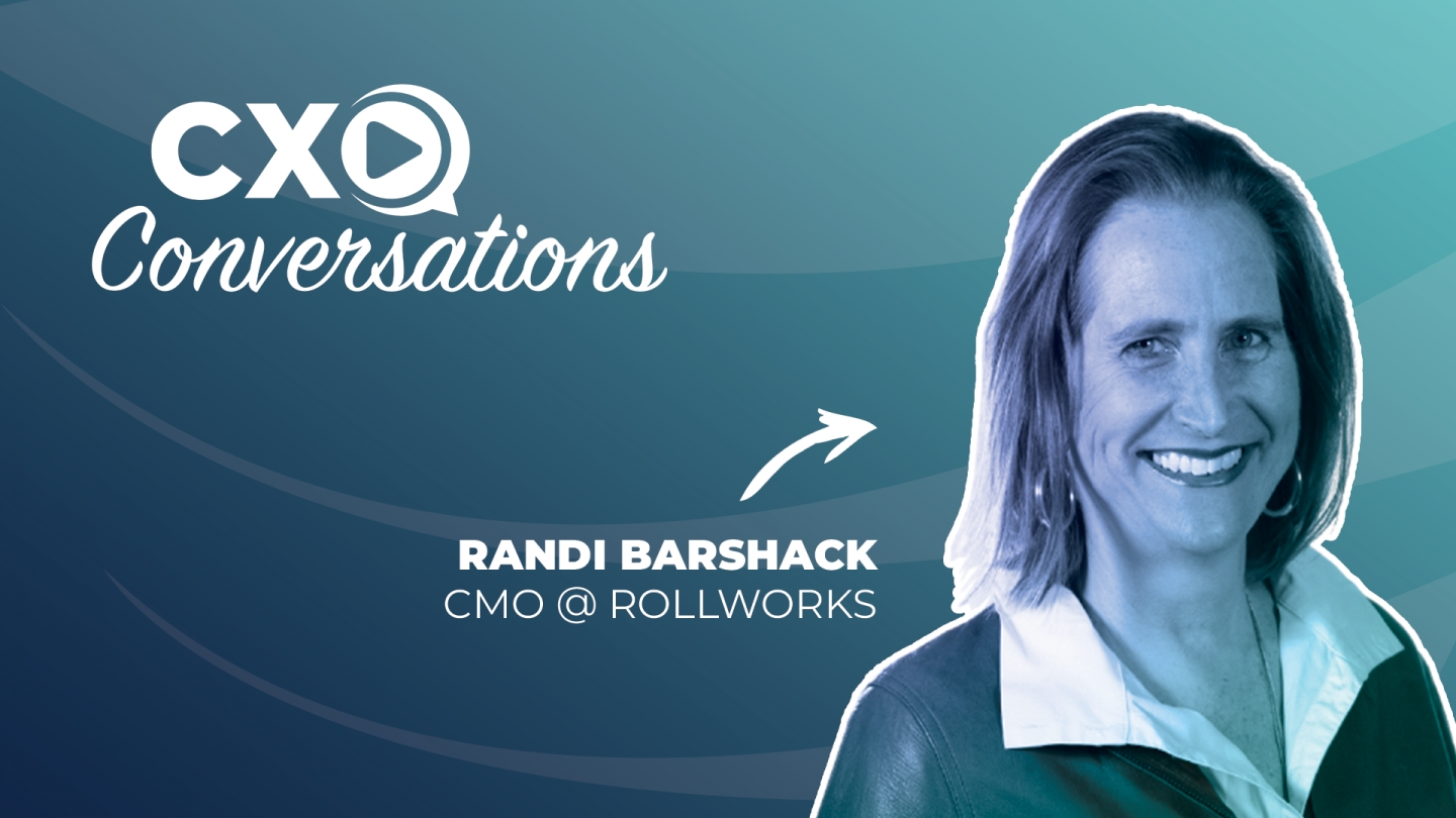 CXO Conversations: RollWorks CMO On How To Bridge The Gap Between Marketing & Sales