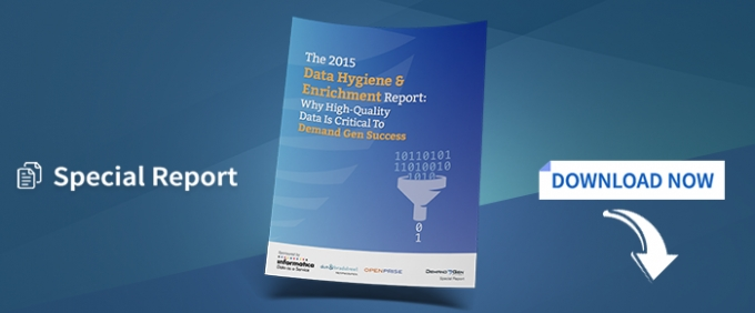 The 2015 Data Hygiene & Enrichment Report: Why High-Quality Data Is Critical To Demand Gen Success