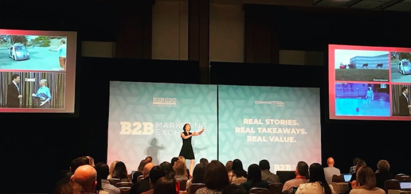 #B2BMX: Harnessing AI To Power Customer Engagement; Having A Media Brand Mindset For Content