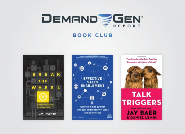 DGR Book Club: 3 New Reads To Help Marketing & Sales Teams Grow