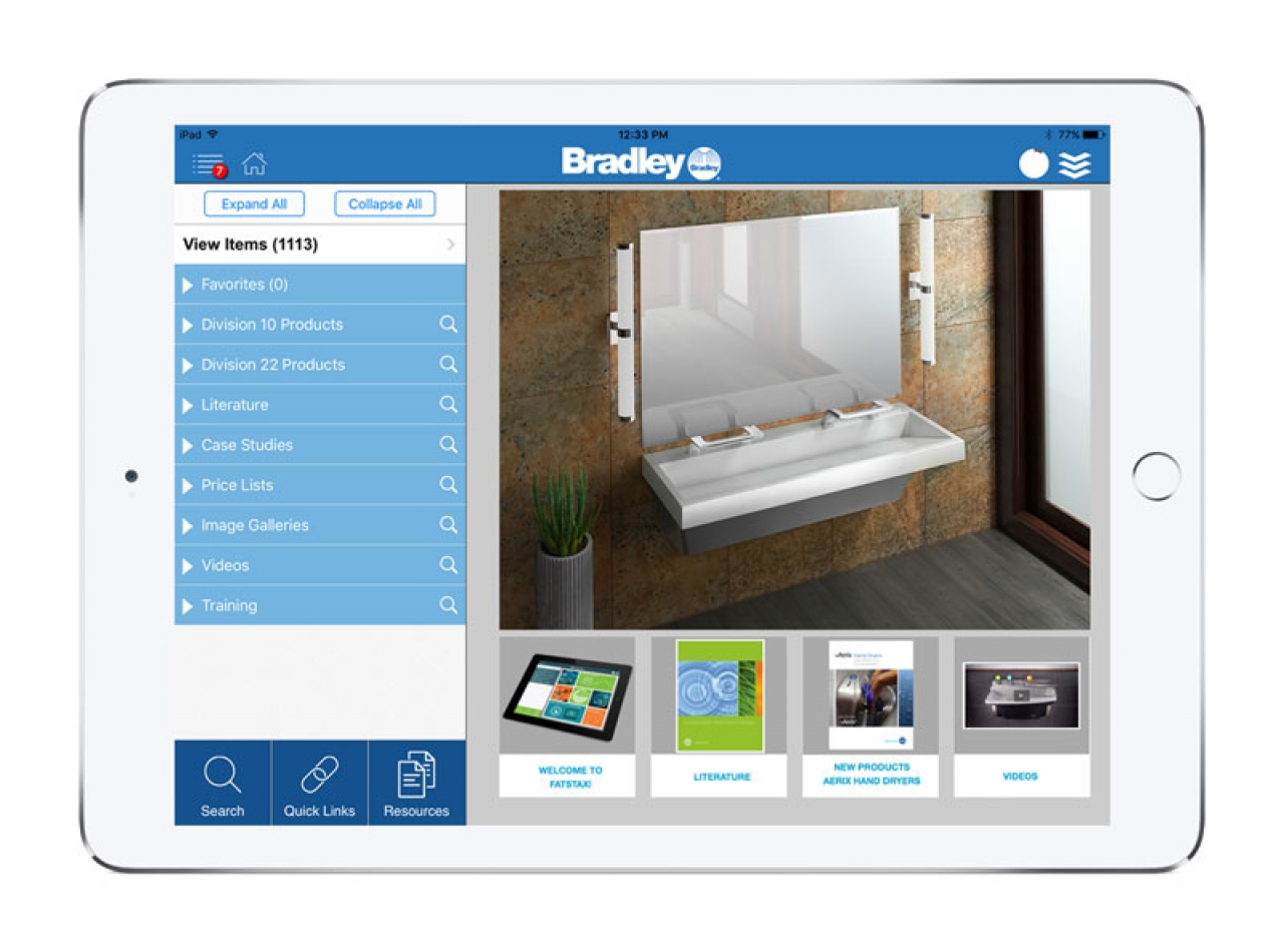 Bradley Corporation Streamlines Sales Activity With Mobile App