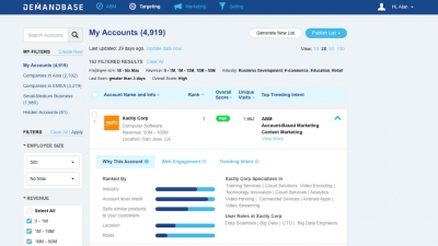 Demandbase Introduces Enhanced ABM Platform