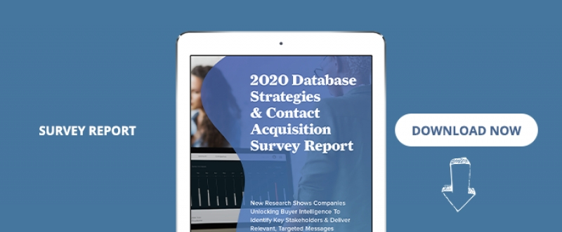 2020 Database Strategies & Contact Acquisition Survey Report