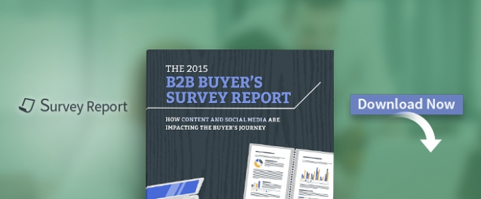 The 2015 B2B Buyer's Survey Report