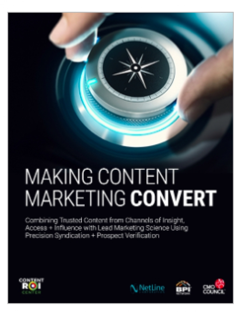CMO Council Study: Only 12% Of Marketers Believe Their Content Is Relevant To Their Audience