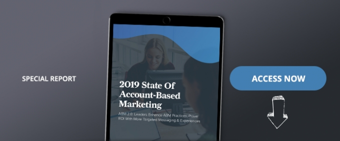 2019 State Of Account-Based Marketing