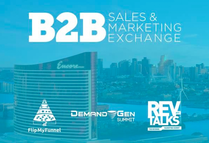 20+ Sponsors Sign On To First-Ever B2B Sales & Marketing Exchange
