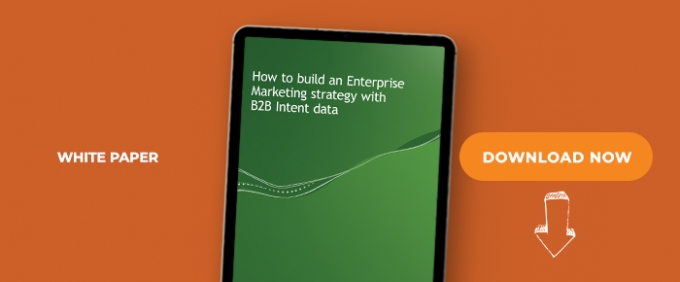 How To Build An Enterprise Marketing Strategy With B2B Intent Data