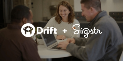 Sigstr & Drift Unveil New Integration, Incorporate Chat Capabilities Into Email Signatures