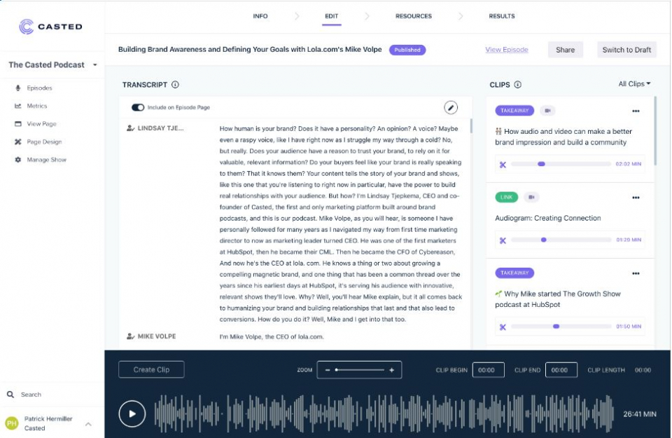 Casted Aims To Empower Marketers To Develop Podcast Content