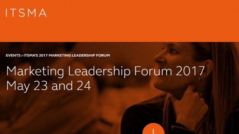 ITSMA's 2017 Marketing Leadership Forum