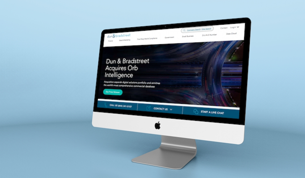 Dun & Bradstreet Acquires Firmographic Data Provider Orb Intelligence