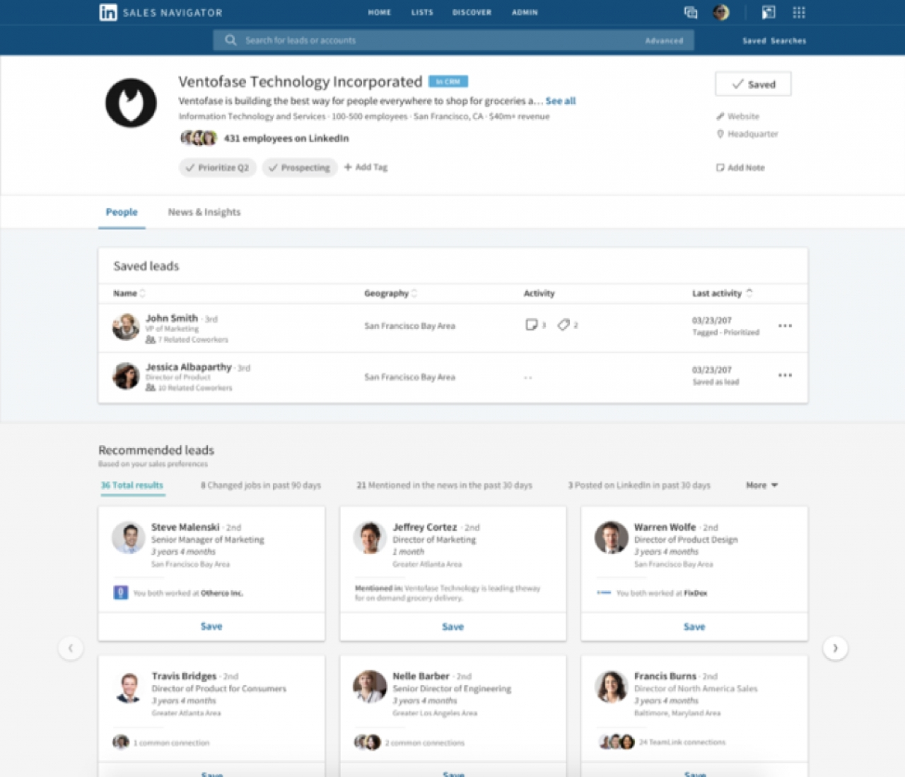 LinkedIn Sales Navigator Adds New Integrations, Updates To Account Pages And Sales Alerts