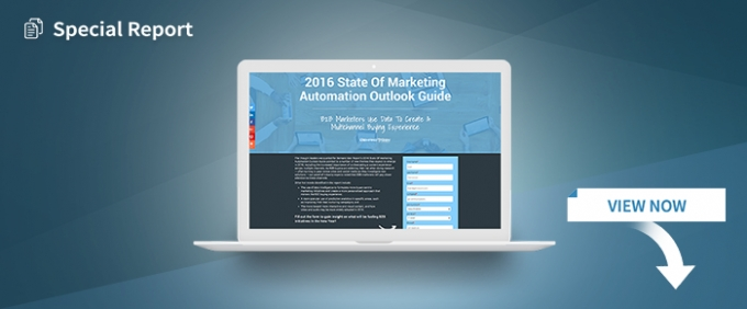 2016 State Of Marketing Automation Outlook Guide