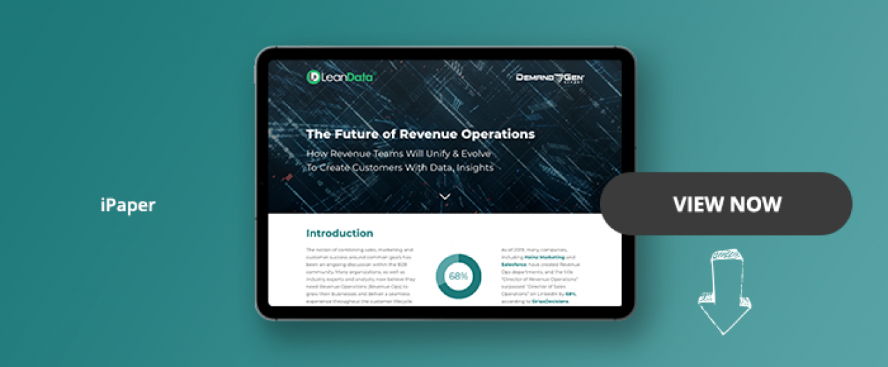 The Future Of Revenue Operations