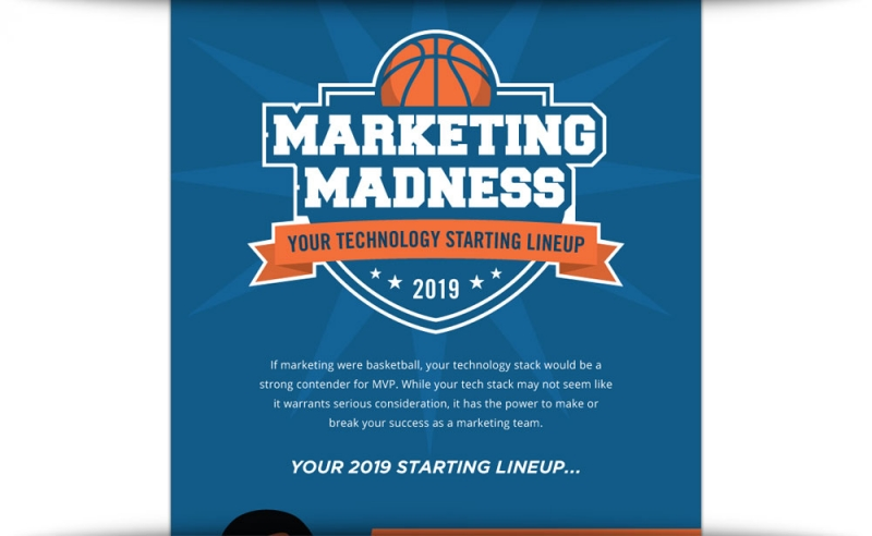 Marketing Madness: Your Technology Starting Lineup