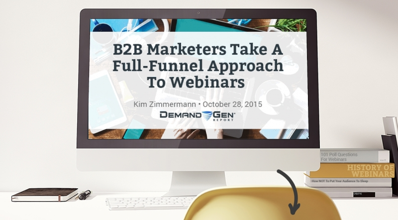 B2B Marketers Take A Full-Funnel Approach To Webinars
