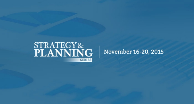 Second Annual Strategy & Planning Series To Highlight 2016 Trends And Budget Priorities