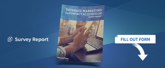 The Database Marketing And Contact Acquisition Survey Report