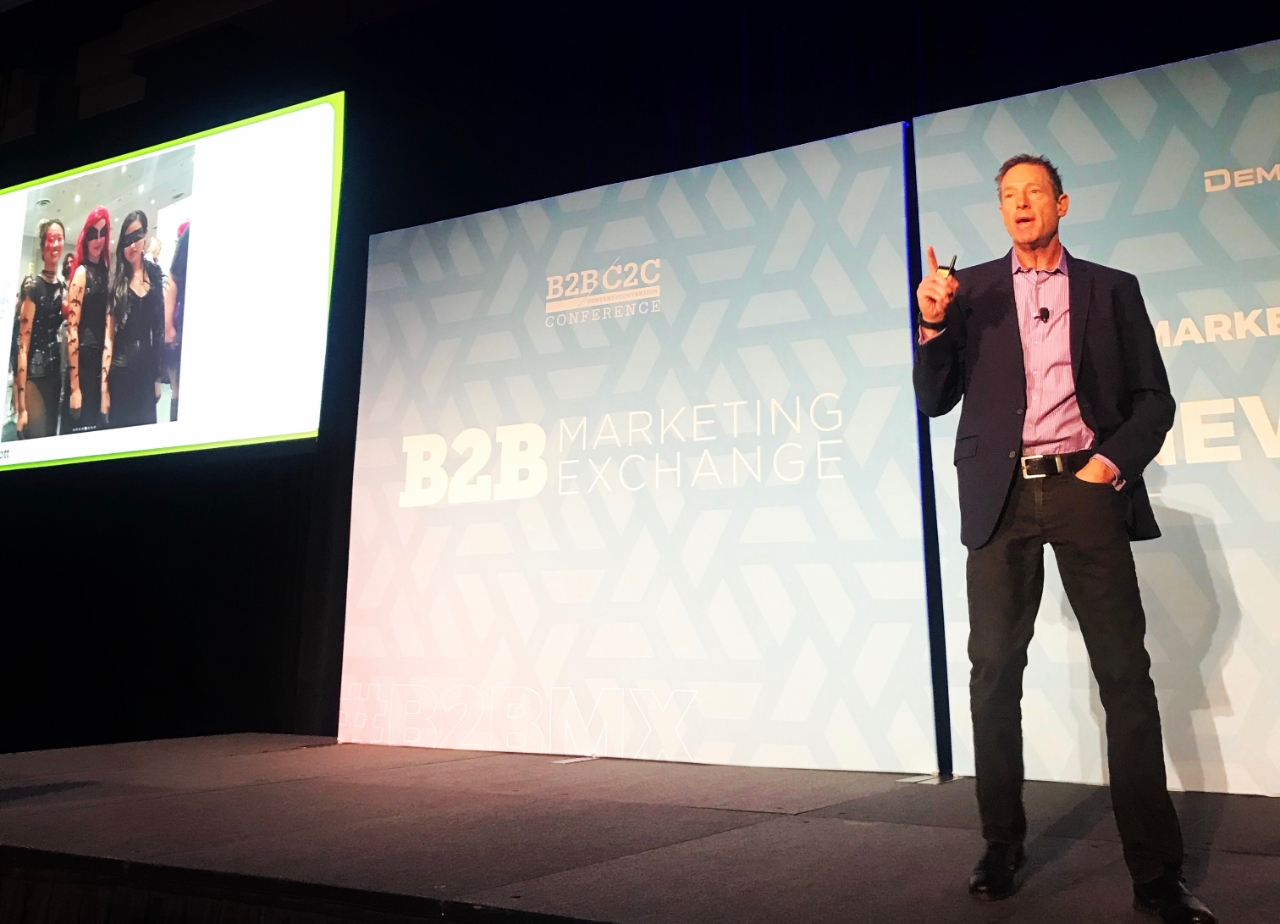 #B2BMX Keynote: David Meerman Scott On How B2B Businesses Can Cultivate Fandom Within Digital Chaos