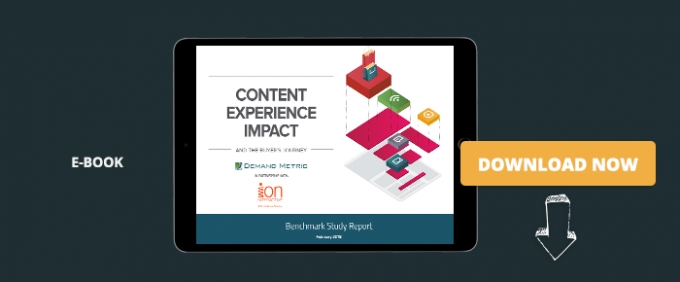 Content Experience Impact: And The Buyer's Journey