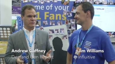 Dreamforce 2013: Jim Williams, VP of Marketing, Influitive
