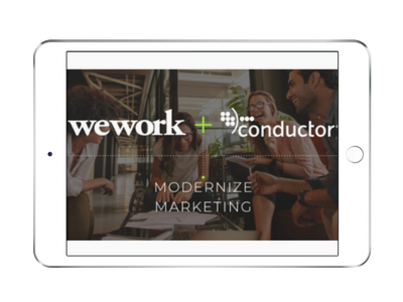 WeWork Acquires Conductor, Sets Foundation For Digital Business Services