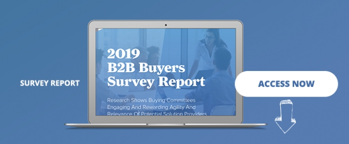 The 2019 B2B Buyers Survey Report