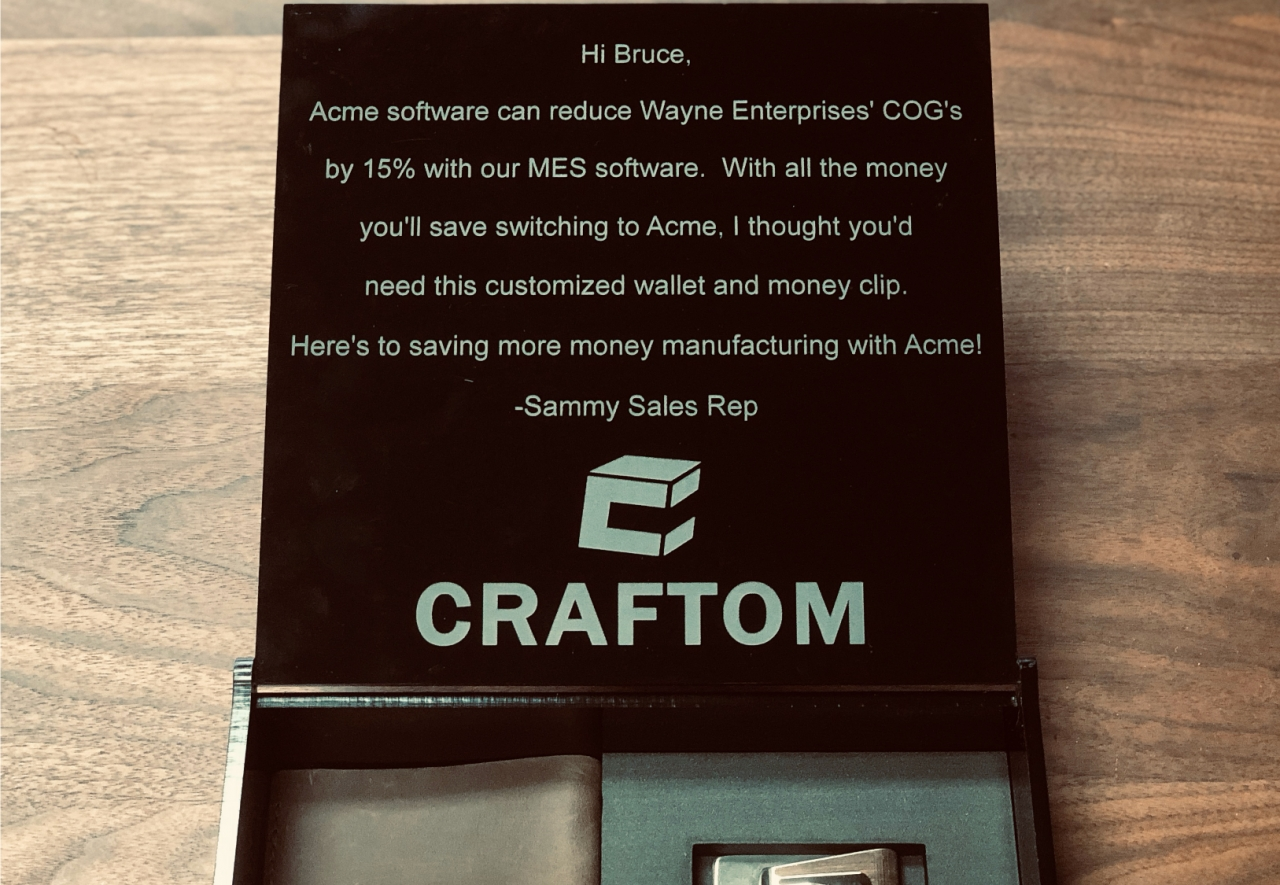 Craftom.io Launches Hyper-Customization Program For Unique Gifting & Mailing