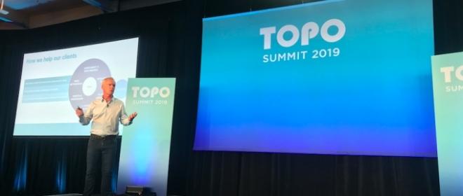 TOPO CEO Spotlights CX, Brand Power, Data & People At Summit 2019