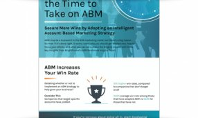 Why Now Is The Time To Take On ABM